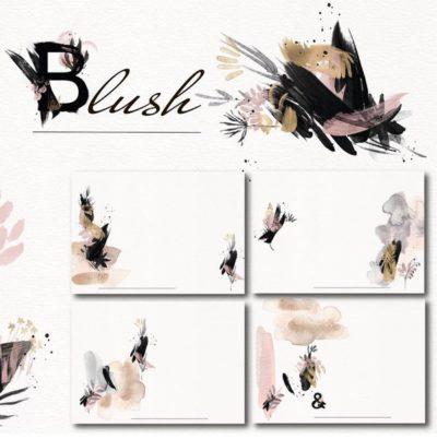"""Печатный блок для альбома """"Blush"""", с длинным корешком"""