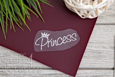 """Картинки из термотрансфера """"Princess - 2"""", 8*4 см"""