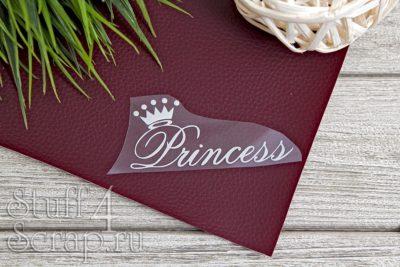"""Картинки из термотрансфера """"Princess - 3"""", 9*4 см"""