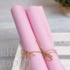 Кожзам мягкий матовый на флисе, розово-сиреневый, 35*45 см