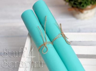 Кожзам мягкий матовый на флисе, Tiffany, 35*45 см