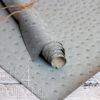Кожзам «Игуана», винтажный голубой, 45х35 см
