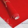 Кожзам «Змея», ярко-красный, 45х35 см