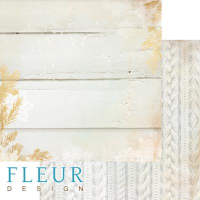 """Лист бумаги """"Теплый свитер"""", коллекция """"Волшебный лес"""" (Fleur design), 30х30 см"""