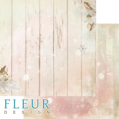 """Лист бумаги """"Чудеса леса"""", коллекция """"Волшебный лес"""" (Fleur design), 30х30 см"""