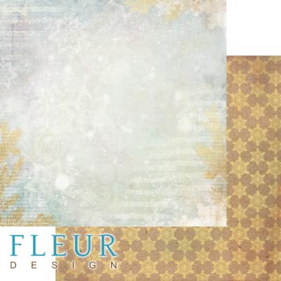 """Лист бумаги """"Музыка леса"""", коллекция """"Волшебный лес"""" (Fleur design), 30х30 см"""