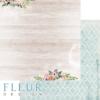 """Лист бумаги """"Фантазия"""", коллекция """"Очарование"""" (Fleur design), 30х30 см"""