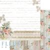 """Лист бумаги """"Кружево"""", коллекция """"Очарование"""" (Fleur design), 30х30 см"""