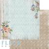 """Лист бумаги """"Ты и я"""", коллекция """"Очарование"""" (Fleur design), 30х30 см"""