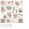"""Лист бумаги """"Элементы"""", коллекция """"Очарование"""" (Fleur design), 30х30 см"""