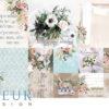 """Набор карточек """"Очарование"""" (Fleur design), 9,5х9,5+5х5см, 12 шт"""