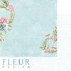 """Лист бумаги """"Прохлада"""", коллекция """"Дыхание весны"""" (Fleur design), 30х30 см"""