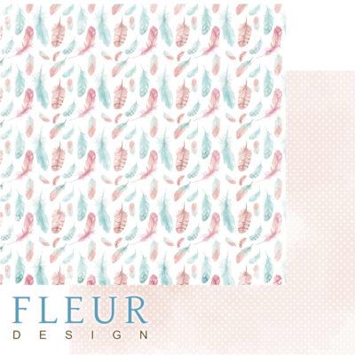"""Лист бумаги """"Легкий ветер"""", коллекция """"Дыхание весны"""" (Fleur design), 30х30 см"""