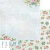 """Лист бумаги """"В тени цветов"""", коллекция """"Дыхание весны"""" (Fleur design), 30х30 см"""