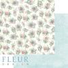 """Лист бумаги """"Пионовый букет"""", коллекция """"Дыхание весны"""" (Fleur design), 30х30 см"""