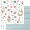 """Лист бумаги """"Крылечко"""", коллекция """"Дыхание весны"""" (Fleur design), 30х30 см"""