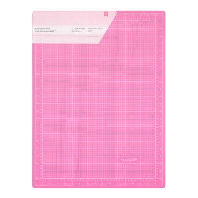 Коврик для резки двусторонний, розовый 45*60 см (American Crafts)
