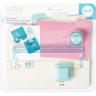 Доска для создания разделителей Tab Punch Board (We R Memory Keepers)