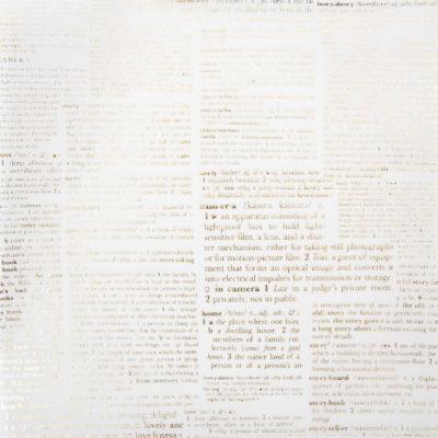 "Веллум ""Газета"" (American Crafts), 30х30 см"