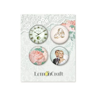 "Фишки коллекции ""LOVE OF MY LIFE"" (Lemon Craft), 4 шт."