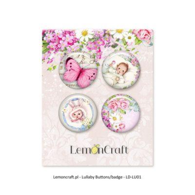 "Фишки коллекции ""LULLABY-02"" (Lemon Craft), 4 шт."