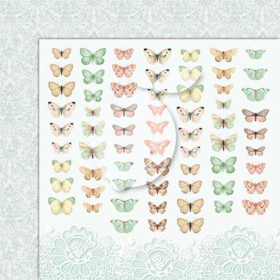 "Лист бумаги коллекции ""LOVE OF MY LIFE-06"" (Lemon Craft), 30,5х30,5 см"