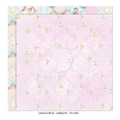"Лист бумаги коллекции ""Lullaby-06"" (Lemon Craft), 30,5х30,5 см"
