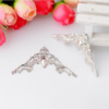Уголки металлические декоративные, 40 мм, серебро, 1 шт.