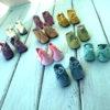 Обувь для кукол, ботиночки из замши, 4-5 см