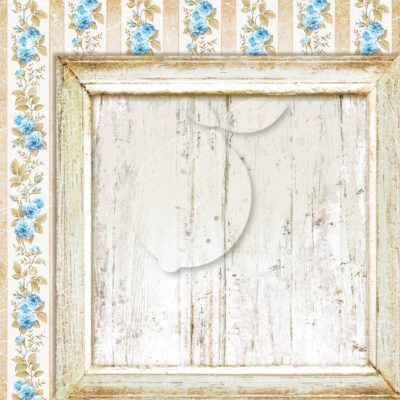 "Лист бумаги коллекции ""Sense and sensibility-05"" (Lemon Craft), 30,5х30,5 см"