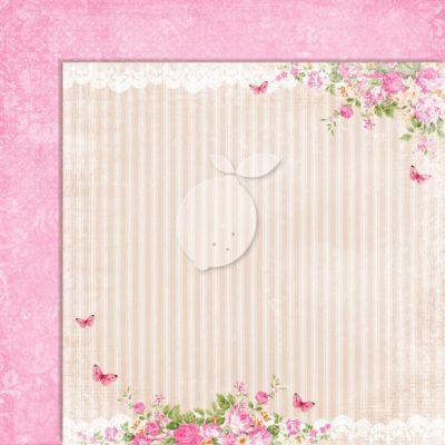 "Лист бумаги коллекции ""Sweet Secrets-03"" (Lemon Craft), 30,5х30,5 см"