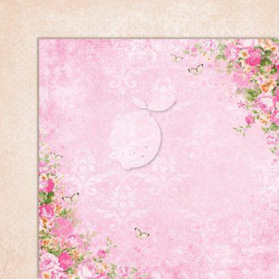 "Лист бумаги коллекции ""Sweet Secrets-06"" (Lemon Craft), 30,5х30,5 см"