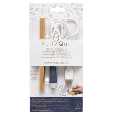 Ручка для фольгирования Foil Quill Freestyle Pen (We R Memory Keepers), жирный 2,5 мм