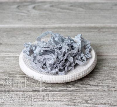 "Шебби лента ""Серебро"", 14 мм, 1 м."