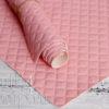 Кожзам «Ромбики», нежно розовый, 45х35 см