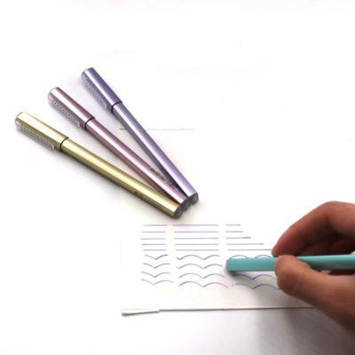 """Ручка перламутровая """"Элегант"""" со стирающимися чернилами, цвет на выбор"""