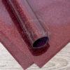 Термотрансферная пленка Glitter, бургунди, 25х25 см