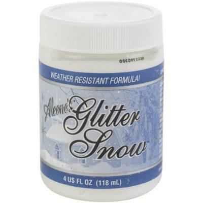 Паста искусственный снег с глиттером Aleene's Glitter Snow, 4oz (118 мл)