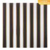 """Бумага сфольгированием «Тёмные полосы», коллекция """"Магический чёрный"""" (Арт Узор) 30х30 см"""