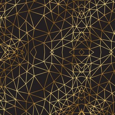 """Бумага сфольгированием «Иллюзия», коллекция """"Магический чёрный"""" (Арт Узор) 30х30 см"""