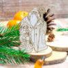 """Чипборд """"Дед Мороз и Снегурочка"""" (Wood Home), 50*80 мм, 1 шт."""