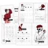 """Печатный блок для блокнота/планера """"Женский-3"""", от 60 листов А5, 130 г/м2. см описание"""