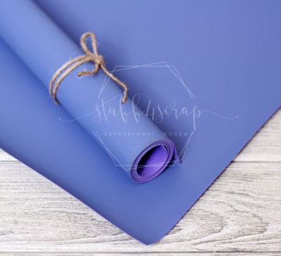 """Переплетный кожзам """"Светло фиолетовый"""", матовый, 25*35 см"""