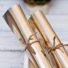 Кожзам «Металлик», светлое золото, 35*45 см