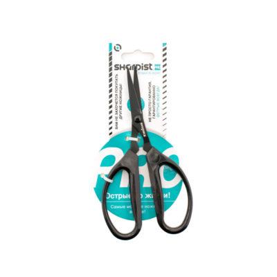 Ножницы профессиональные для шитья, (SHARPIST), черные, 16 см.