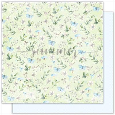 """Лист бумаги """"Glade"""" коллекции """"Forest story"""" (Summer Studio), 30,5х30,5 см"""