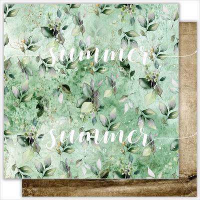 """Лист бумаги """"CITY GARDEN"""" коллекции """"RENAISSANCE"""" (Summer Studio), 30,5х30,5 см"""