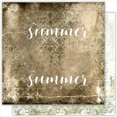"Лист бумаги ""Architecture"" коллекции ""RENAISSANCE"" (Summer Studio), 30,5х30,5 см"