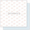 "Лист бумаги ""SHEEP"" коллекции ""VANILLA DREAMS"" (Summer Studio), 30,5х30,5"