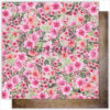 """Лист бумаги """"FLOWERS """" Коллекция """"Dreamland"""" (Summer Studio), 30,5х30,5"""